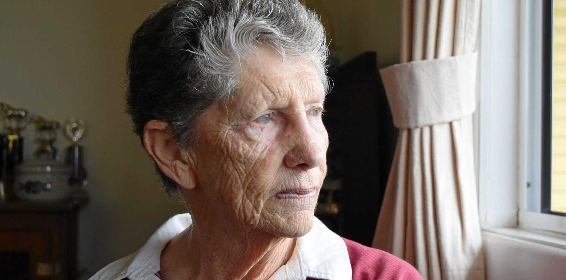 BE AWARE: Ann Riley, 80 from Proserpine said it doesn't matter how 'small or silly' a spot could be, getting it checked could save your life.