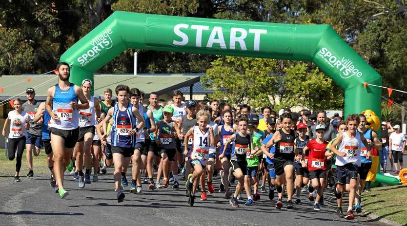 READY, SET, GO: Another big field is expected to take part in the 2019 Coffs Harbour Running Festival.
