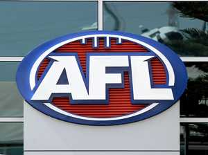 AFL cops a barrage over rich facelift plan for logo