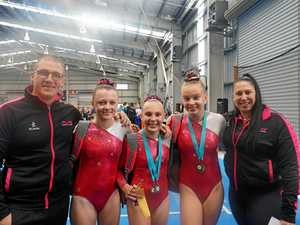 Determination is key for Pure Gymnastics' success