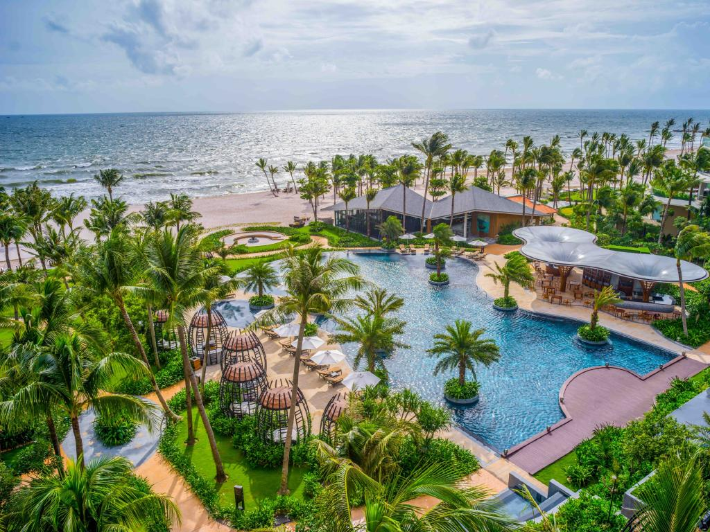 The Intercontinental Phu Quoc Long Beach Resort in Vietnam.