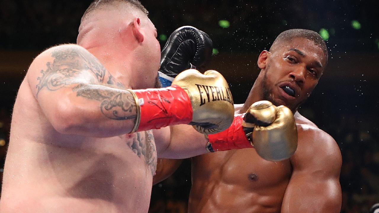 Anthony Joshua wanted none of it. Picture: Getty Images