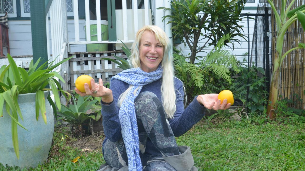 Manunda woman Karlina Saint runs an Airbnb to promote veganism. PICTURE: JACK LAWRIE
