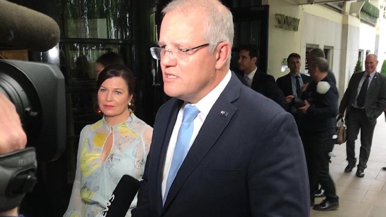 The PM has opened the door to a law change after AFP raids on Australian journalists, insisting the government is committed to press freedom. Picture: Sky News