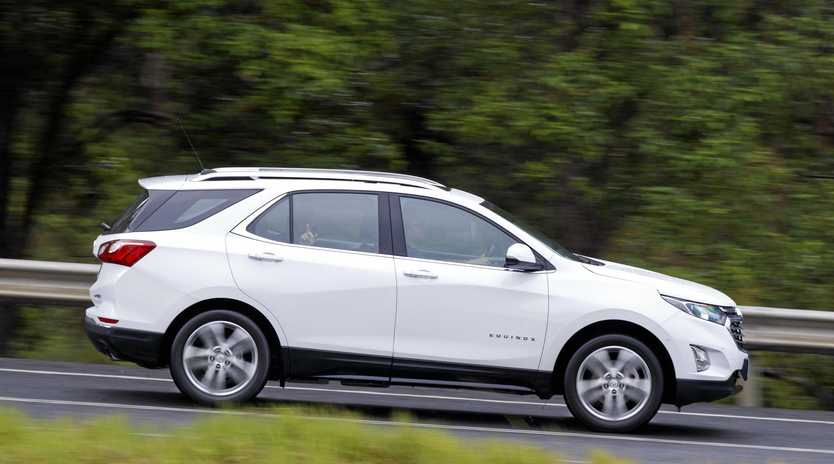 The Holden Equinox.