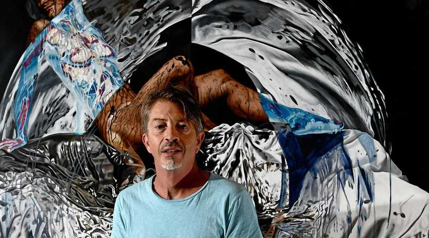 STAYING HUMAN: Visual artist and film maker, Angus MacDonald will be one of the panellists at Lismore Regional Gallery's Thursday Night Live! discussing Refugees Now and Then: Has Australia lost its compassion?' This will follow a screening of his film Manus from Howling Eagle Productions.