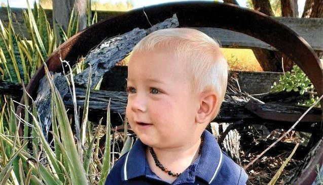 FULL OF LOVE: The Chinchilla community are in mourning after the tragic passing of Linkon Joel Ussher, cherished son of Yardleigh and Thomas Ussher.