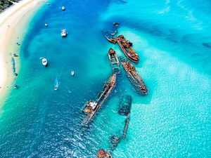 Tangalooma's shipwrecks a snorkelling paradise