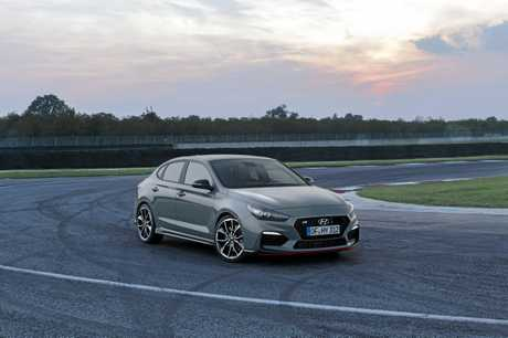 The Hyundai i30 Fastback N.
