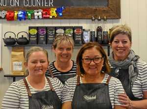 Gayndah cafe's nourishing birthday milestone