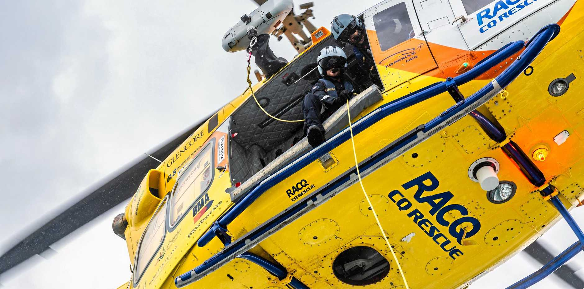 RACQ CQ Rescue will be at the Emergency Services Day at Harrup Park.
