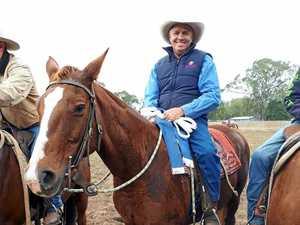 Gayndah rider ties second in campdraft