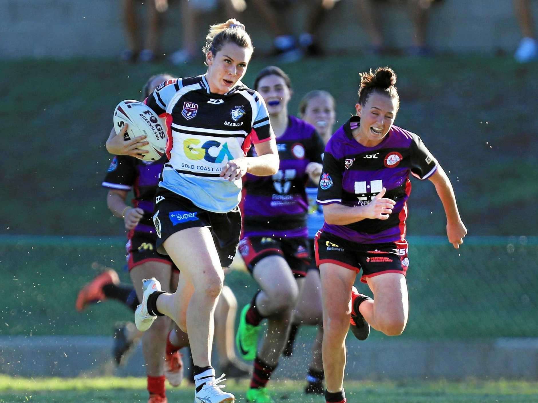 ORIGIN BOUND: Tweed star Jessika Elliston has been named in the Queensland Women's squad for this year's State of Origin.