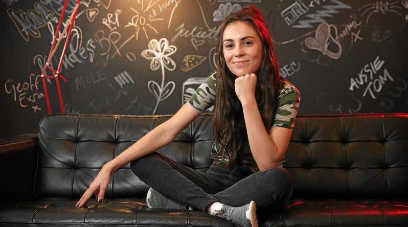 SHARK SIGHTING: Top Aussie artist Amy Shark will lead the show at Sea N Sound on Saturday. Photo: Richard Dobson