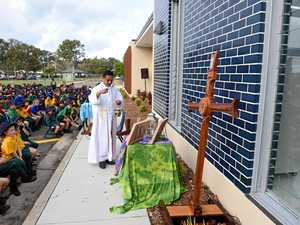 SPECIAL MOMENT: New classrooms blessed at Hervey Bay school
