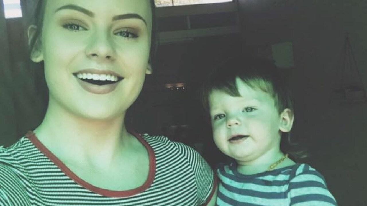 Ruben pictured with mum Natasha Scott.
