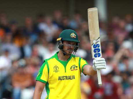 Nathan Coulter-Nile came up huge for Australia with the bat.