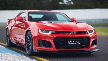 A massive 6.2-litre V8 makes 477kW.