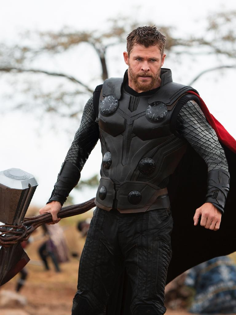 Only Hemsy could play Thor. Picture: Marvel Studios
