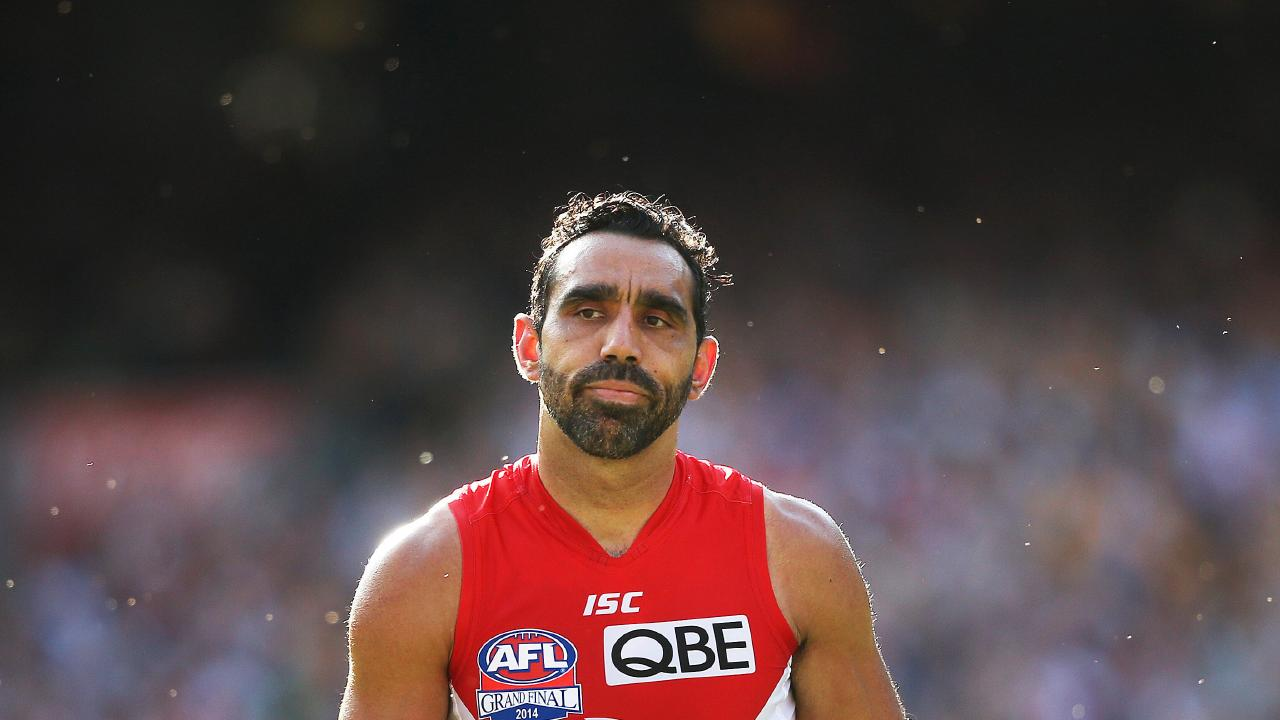 The Sydney Swans' Adam Goodes was subjected to prolonged booing in his final years in the game. Picture:  Phil Hillyard