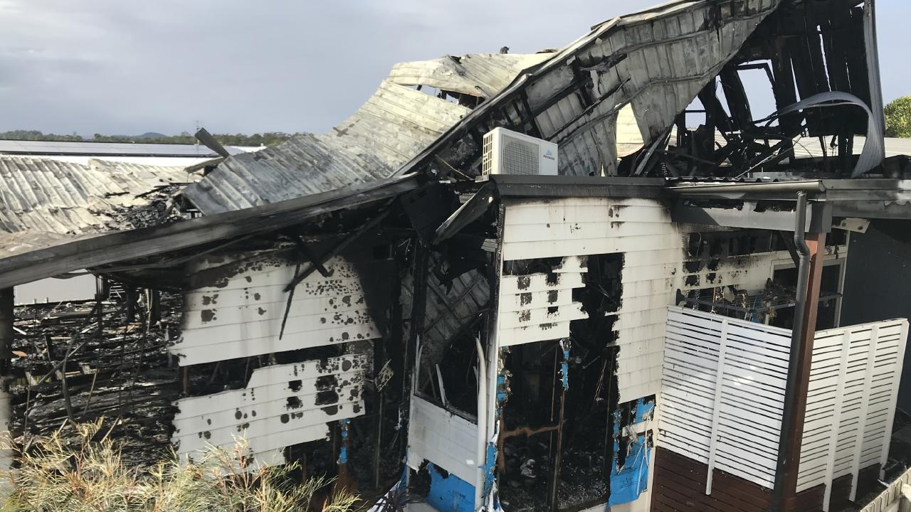 Photos show the extent of the damage. Photo: Anish Kapadia