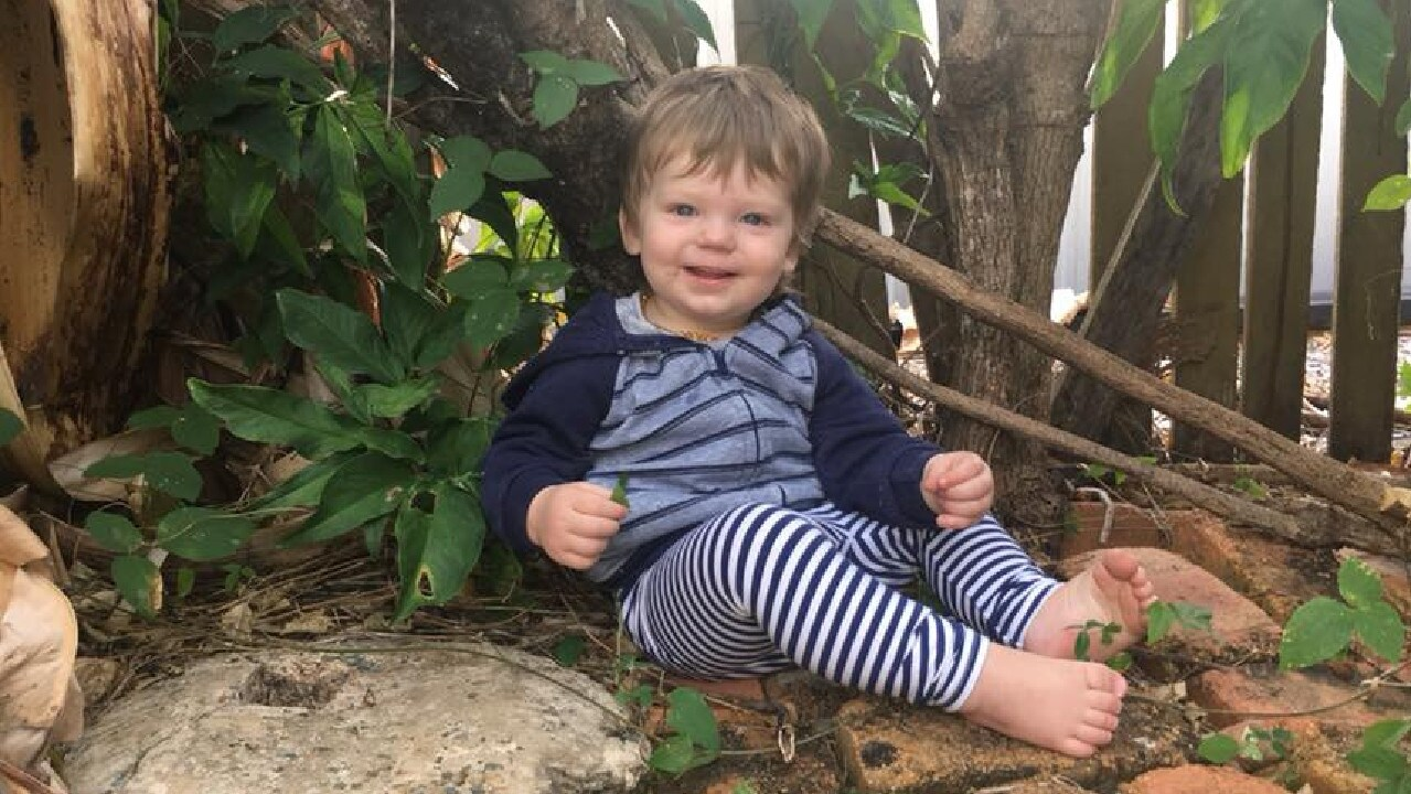 Toddler Ruben Scott, 2, who has gone missing at Koolatah Station.