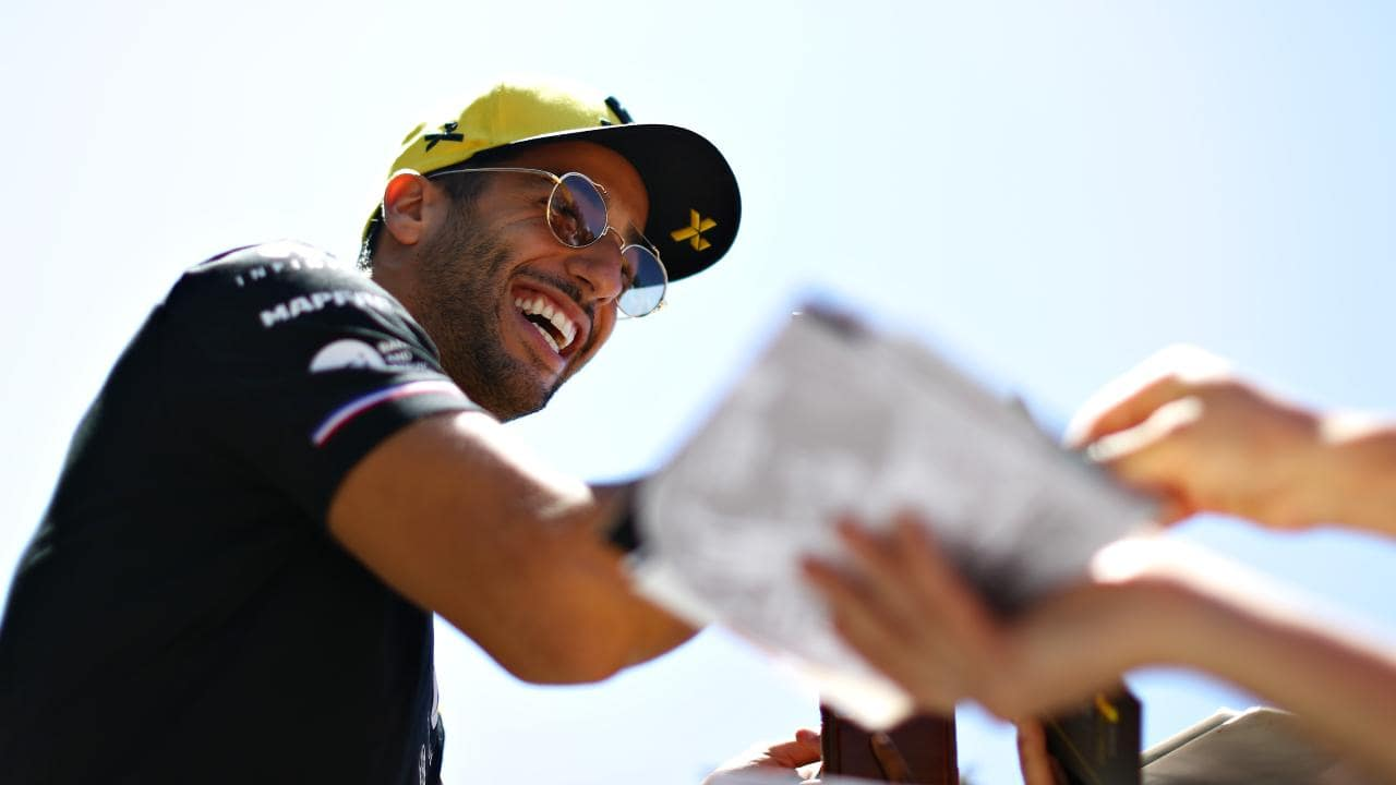 Daniel Ricciardo feels he is operating close to his peak in the Renault now.  Picture: Mark Thompson/Getty Images