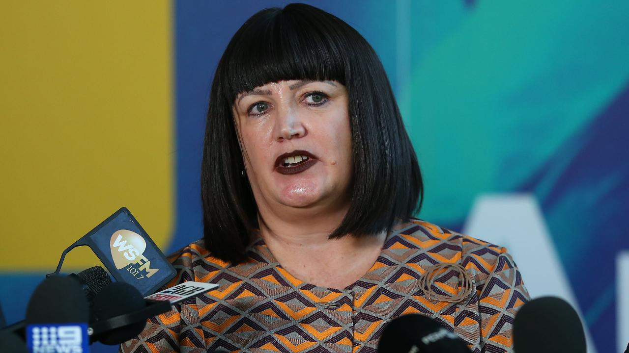 Rugby Australia boss Raelene Castle and RA will fight Israel Folau in court. Picture: Getty Images
