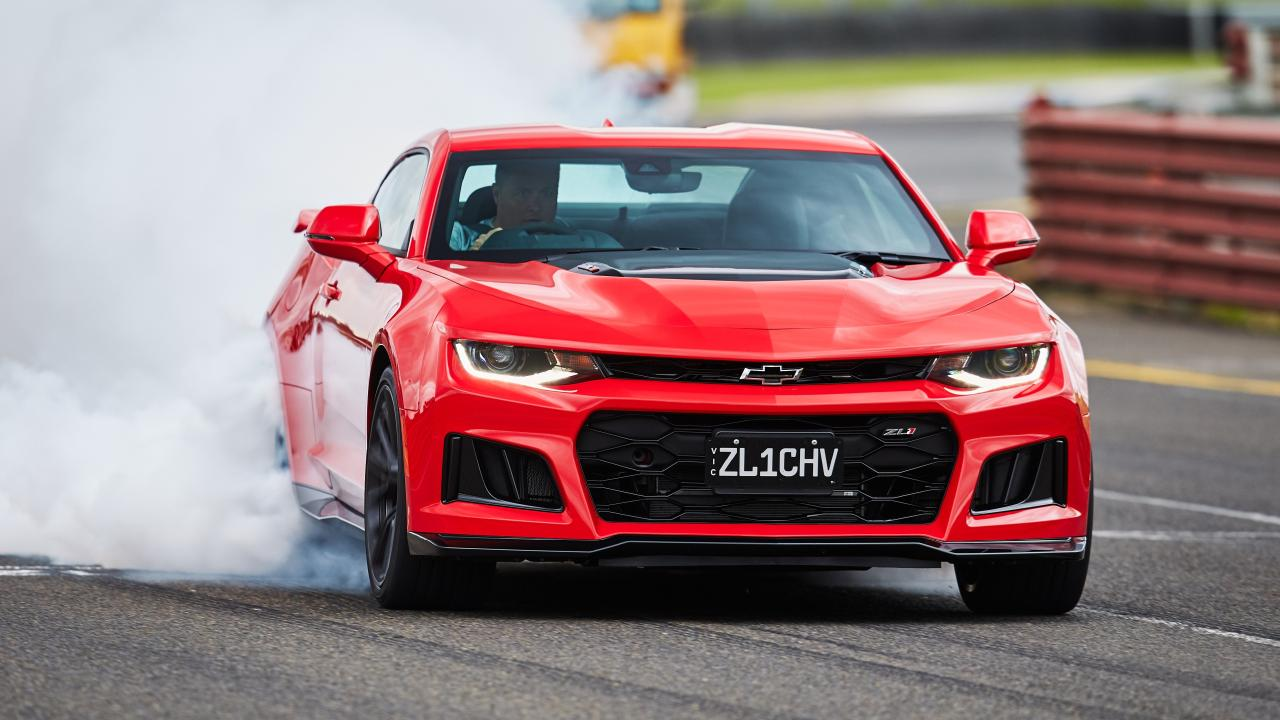 The ZL1 comes with a burnout mode.