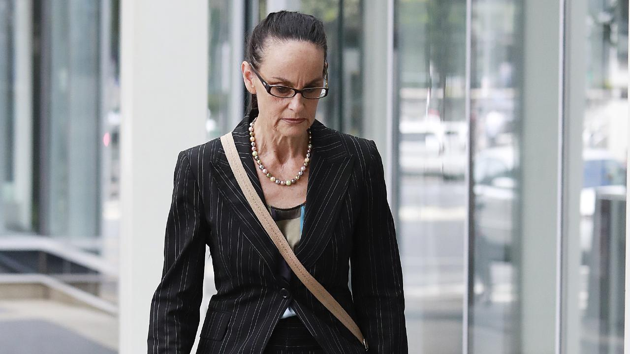 Sharon Kelsey.  Today the QIRC dismissed an application for a stay in proceedings while seven parties in the hearing face criminal charges in other courts. (AAP Image/Claudia Baxter)