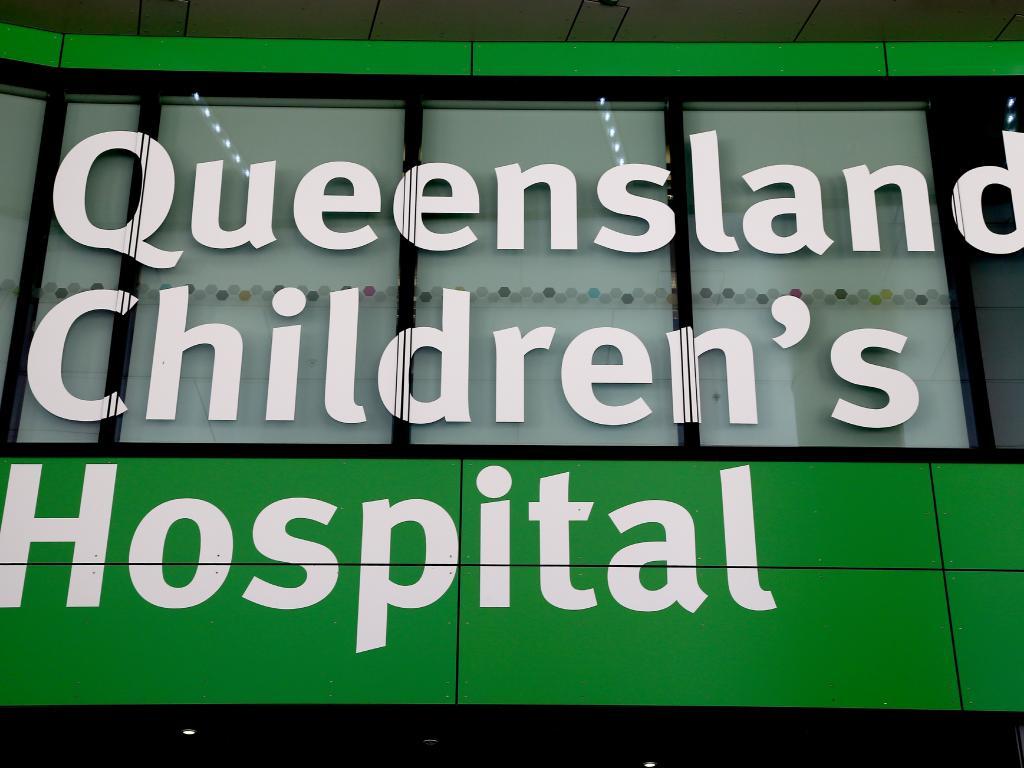 The rebadged Queensland Children's Hospital