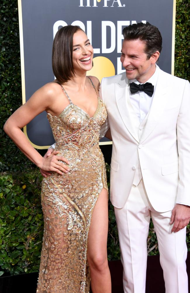 Bradley Cooper and Irina Shayk have reportedly split after 4 years together. Picture: Getty