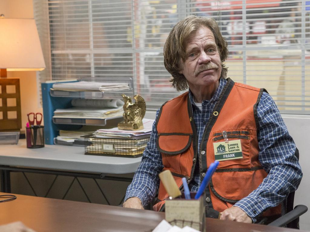 William H Macy as Frank Gallagher in Shameless. Picture: Supplied/Foxtel