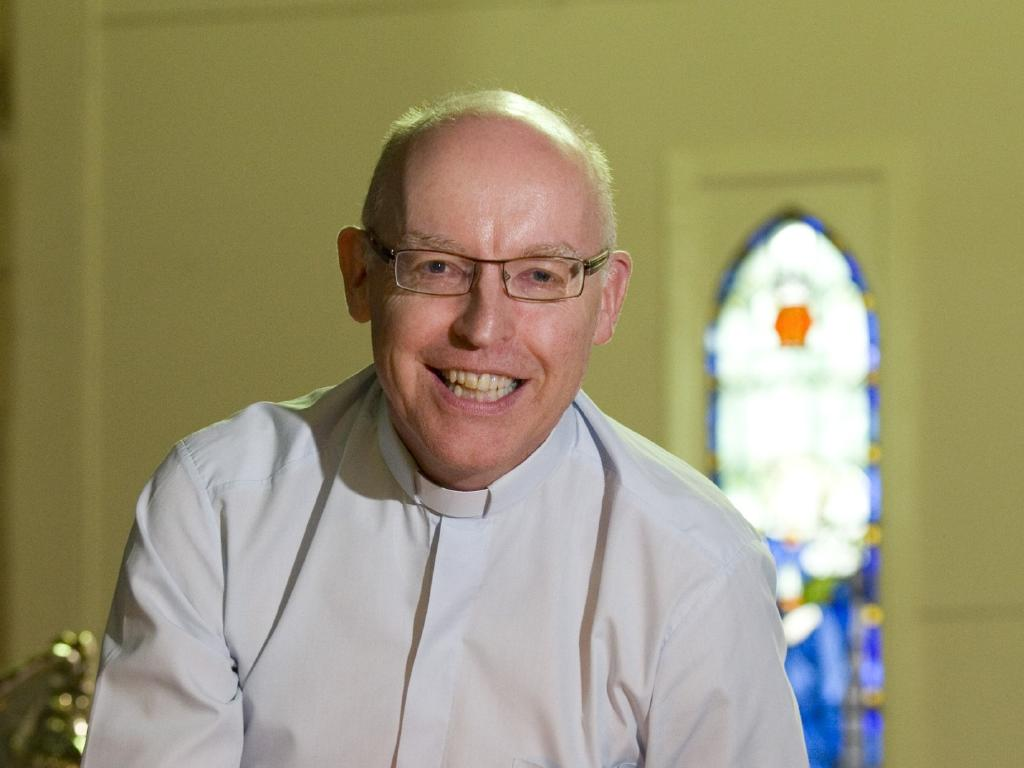 Reverend Jonathan Inkpin pictured in 2013 before becoming a trans woman named Josephine Inkpin.