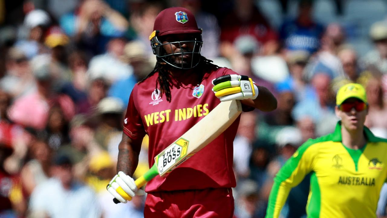 There were no favours for Chris Gayle from the umpires. Picture: Getty Images