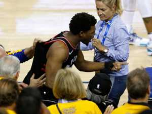 NBA bans Warriors part owner after Kyle Lowry push