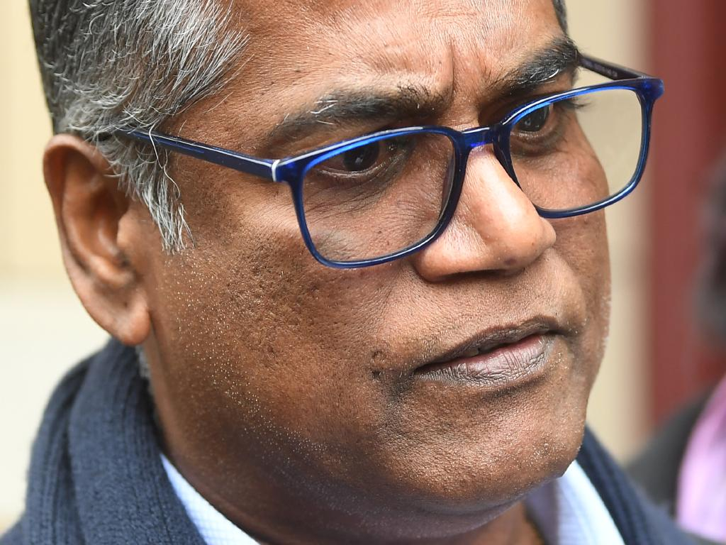 Roger Singaravelu said yesterday that he was lucky to be alive. Picture: Julian Smith/AAP