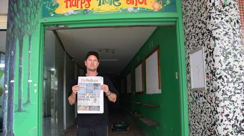 Damien Geyer, Gel Blasters owner opens up shop at a new East St location