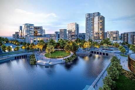 The Maroochydore CBD will reflect the Sunshine Coast's image as a world smart city.