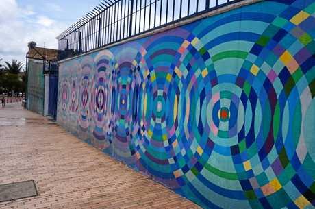 Street art in Bogota, Colombia.