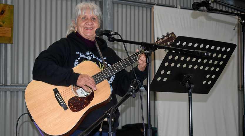 Noella Dwyer at the Tara Folk Music Festival and Community Event, Saturday, June 8.