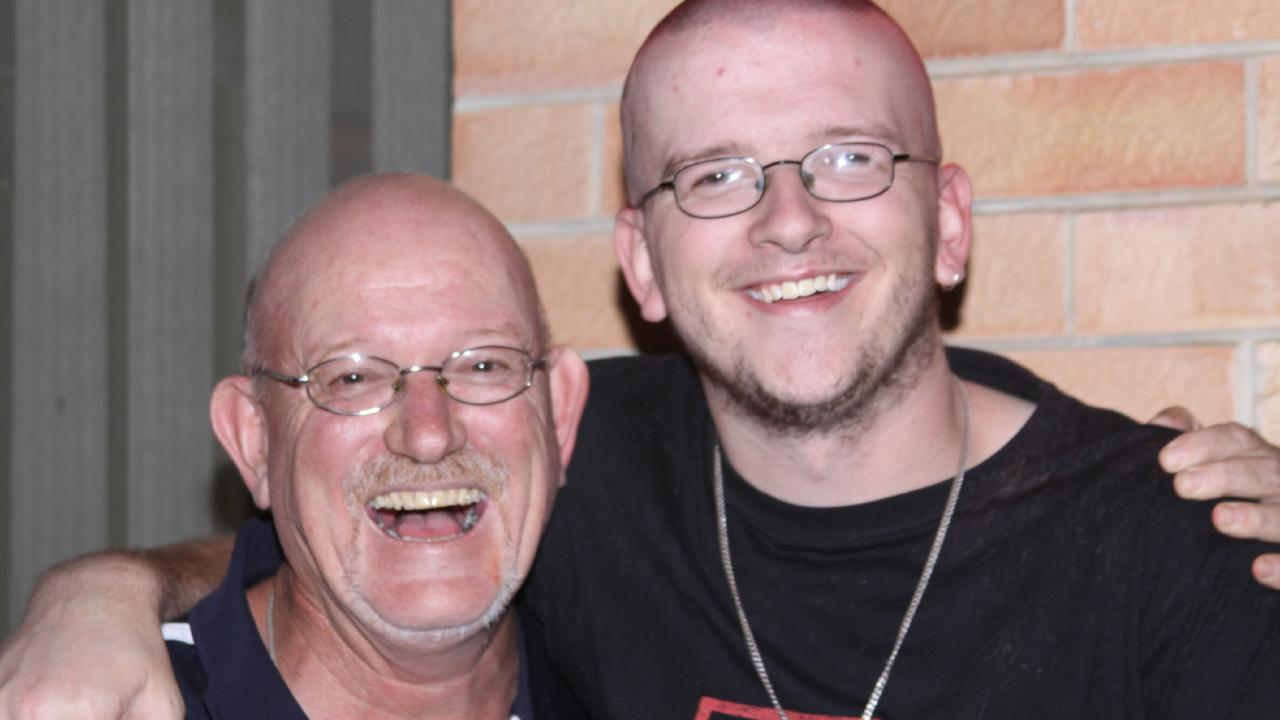 Father Michael Holbrook wants to keep Nick's story alive in a positive way. Supplied by family
