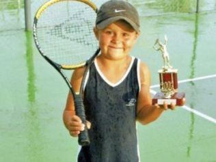 Ash barty when she was just a bub