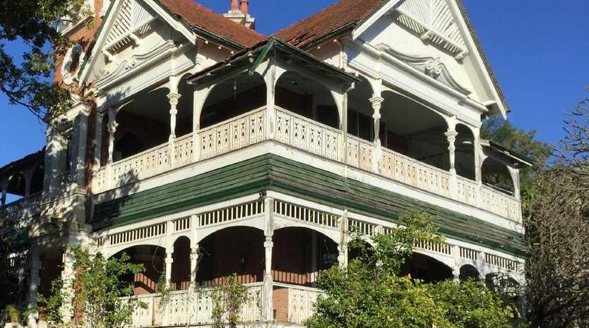 Close-up view of the Lamb House at Kangaroo Point
