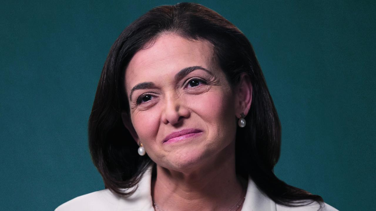 Sheryl Sandberg, chief operating officer of Facebook. Picture: Bloomberg, Getty