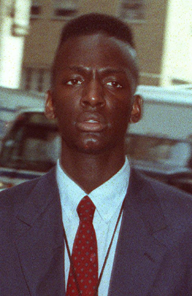 Yusef Salaam, one of five teenagers accused of 1989 rape and attempted murder of a Central Park jogger arrives at New York State Supreme Court.