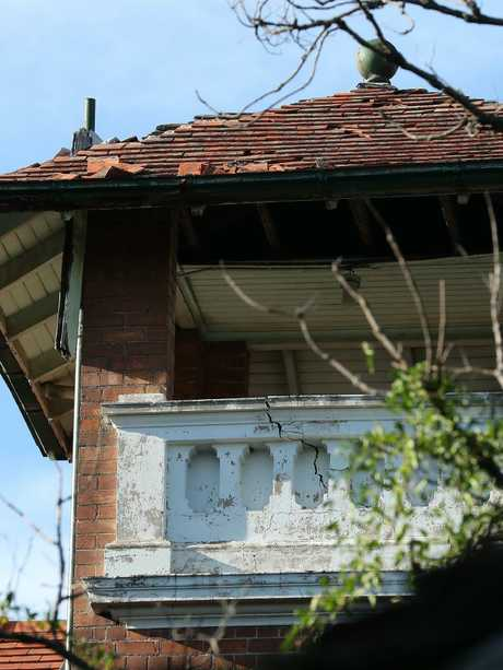External damage to the house