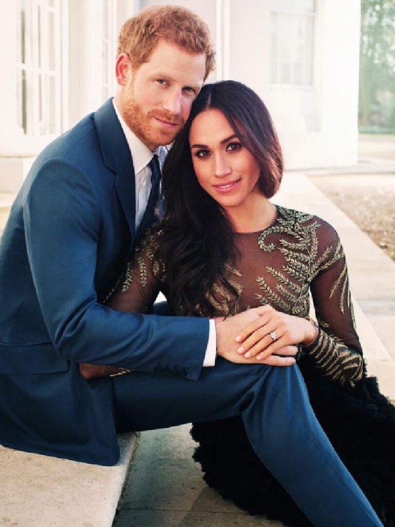 Palace officials raced to shut down the Harry and Meghan wedding pics leak. Credit: Handout — Getty