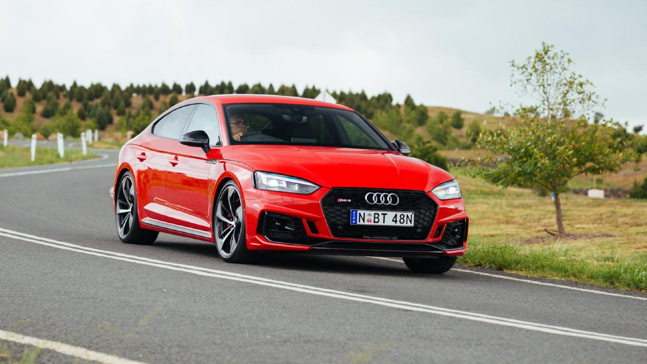 The Audi RS5 has a cracking six-cylinder engine.