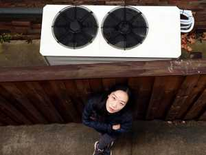 Neighbours at war over 'loud' air conditioner